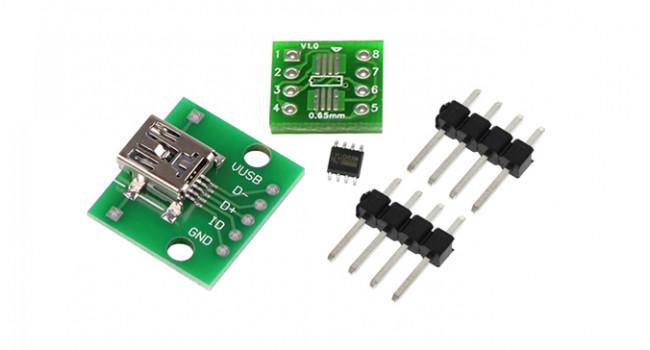 USB CH330N DIP/SOP Kit