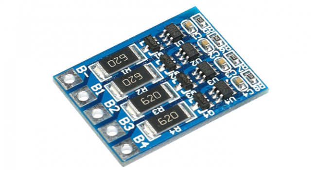 BMS LiPo Charger Board, Up to 4 Cells 3.7V