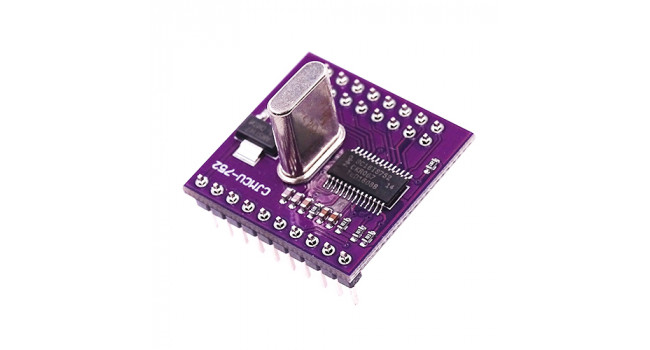 I2C/SPI BUS to Dual Channel Serial