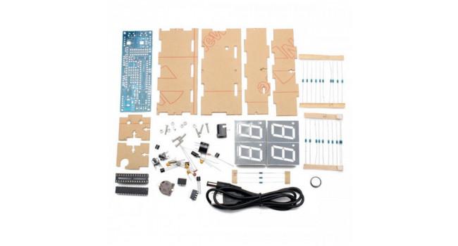 Digital Clock and Temperature Kit