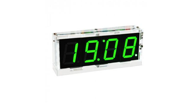 Clock 4 Digit - Green