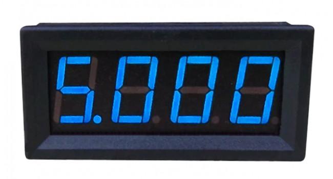 Panel Mount Current Meter LED (Blue)