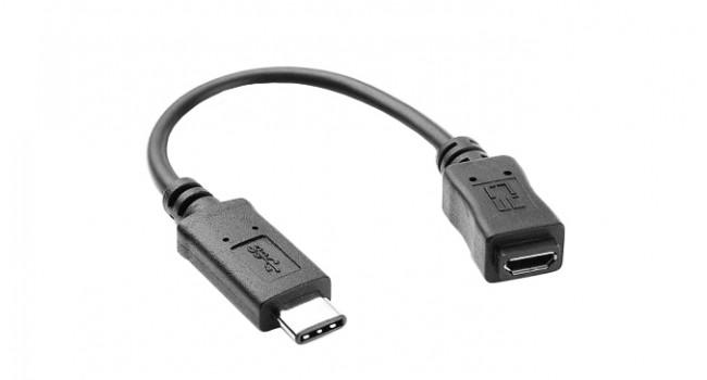 Converter Micro USB to USB C