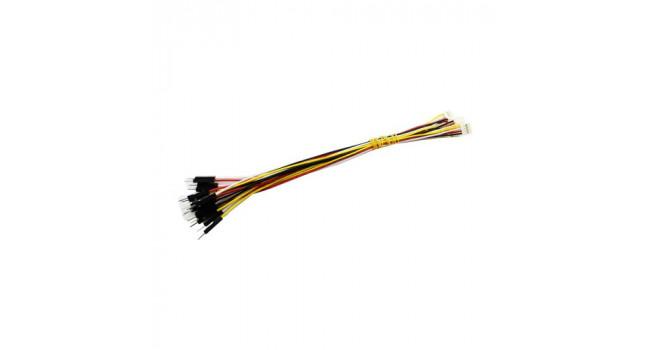 Crowtail Fem - Du Pont Male Cable - 4way (5 pack)
