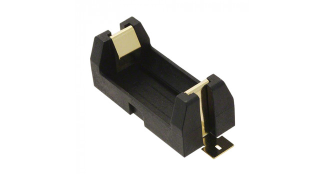 CR123A/16340 Battery Holder 1X - SMD
