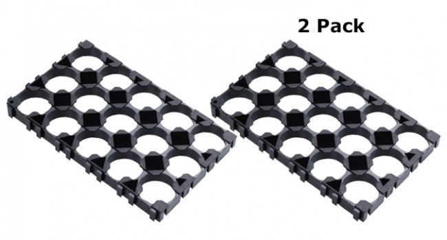 18650 Cell Spacer 3x5 (2 Pack)