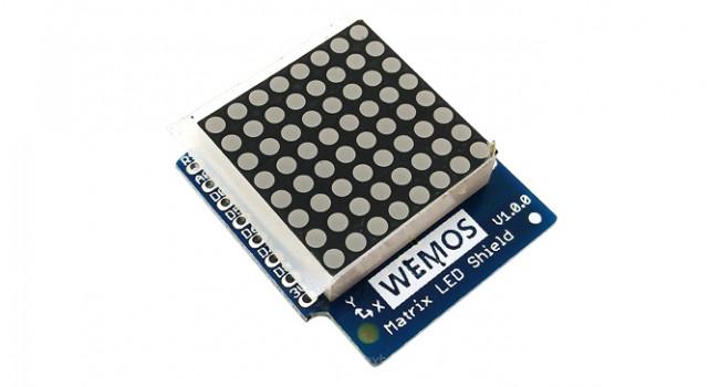 D1 ESP8266 Matrix LED Display