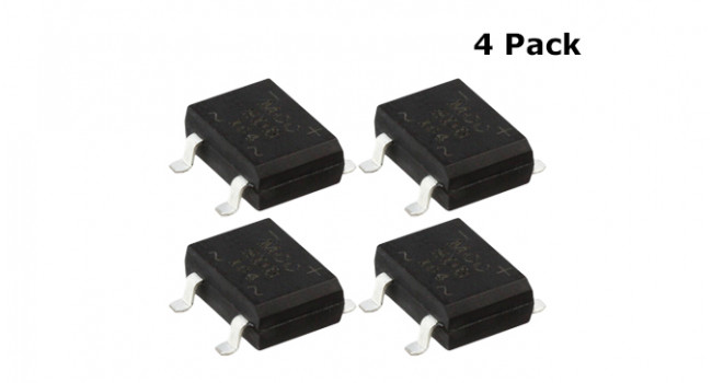 Bridge Rectifier 2A - SMD (4 Pack)