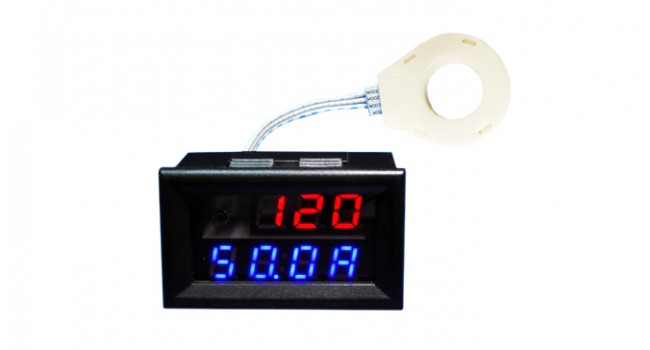 DC Battery Meter Max 120V 200A