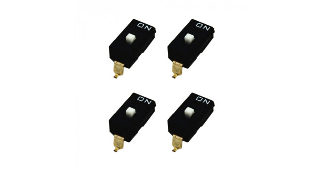 DIp Switch 1 Pole - SMD (4 Pack)