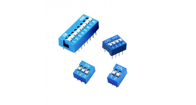 DIP Switch assorted bulk pack (16 Pack)