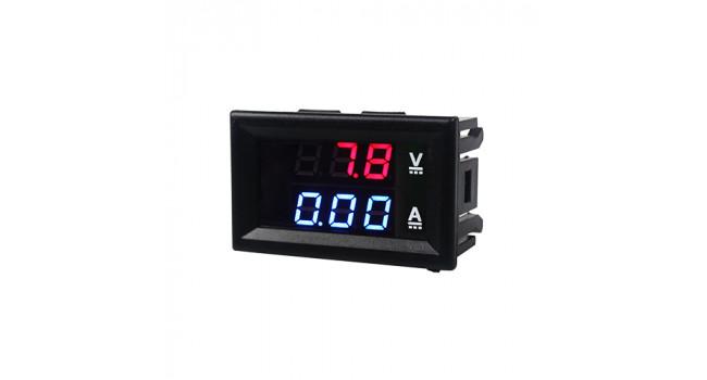 Dual Display DC Meter 0-100V 10A