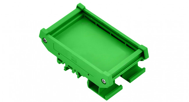 DIN Rail mounting kit for PCB 62x55mm