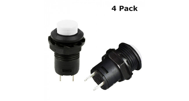 Switch Lock White 3A 250V (4 Pack)