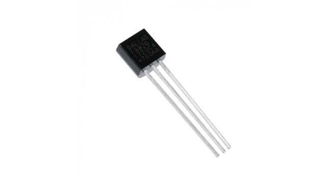 18B20 to -92 Temperature Sensor Chip