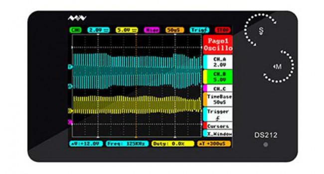 DS212 Digital Storage Oscilloscope