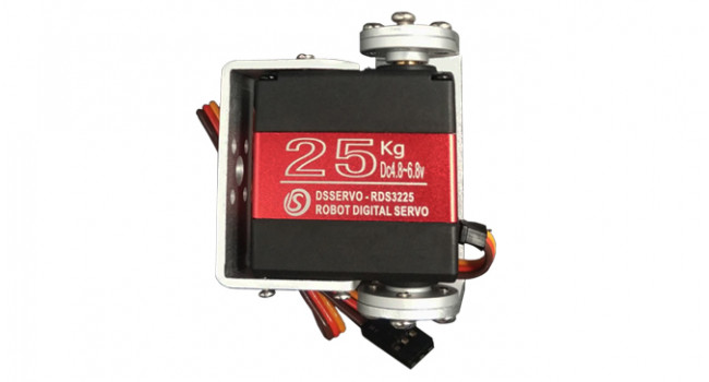 Servo Large 25kg.cm with Feedback - Pan-Tilt Kit