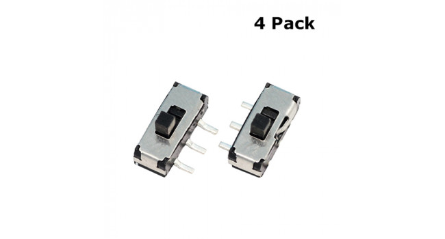DSC0011 Slide Switch 2.54 (4 Pack)