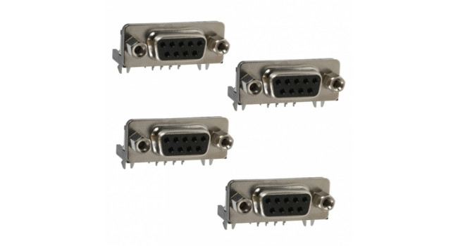D Sub Connector - 9 Pin , Female (5 Pack)