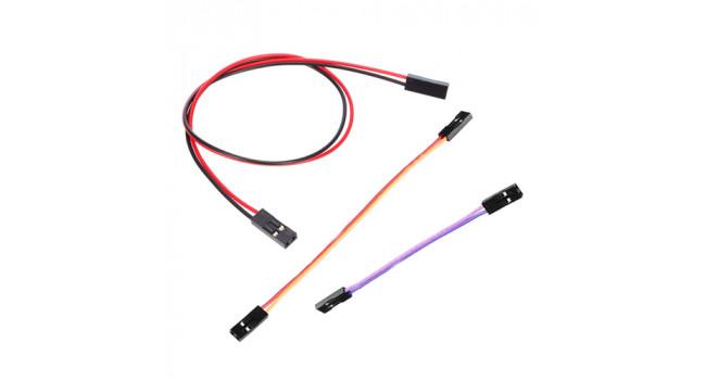 Du Pont 2 Pin Jump Cable 10 + 20 + 30cm