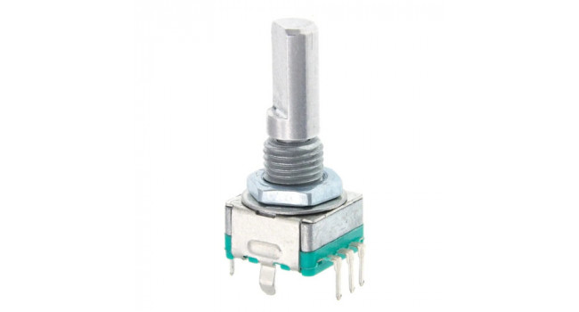 EC11 20 Step Rotary Encoder with Switch - 20mm