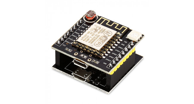 ESP8266 serial WIFI Witty cloud Development Board