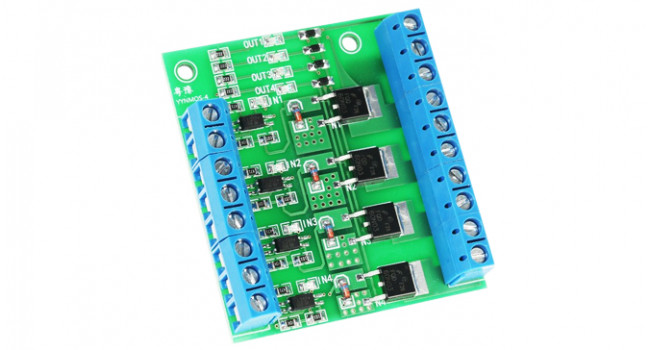 MOSFET 4 Channel Driver