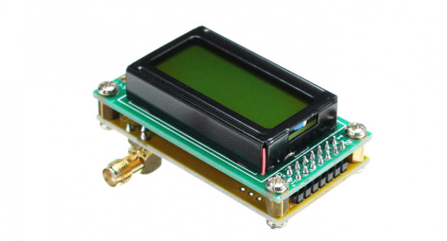Mini Frequency Counter + LDC - 500MHz