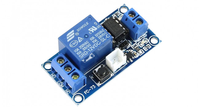 1 Channel Latching Relay - 12V