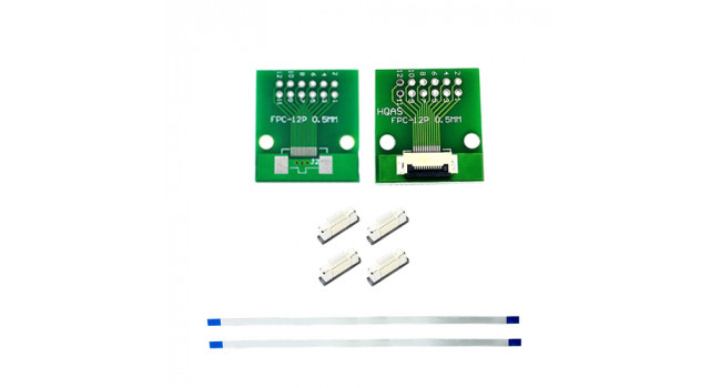 FPC 12 Pin Kit - 0.5mm Pitch