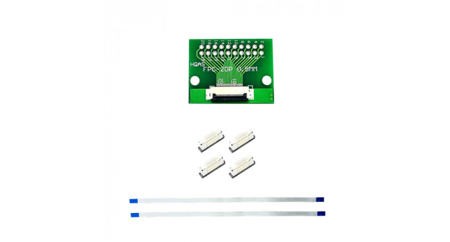 FPC 20 Pin Kit - 0.5mm Pitch