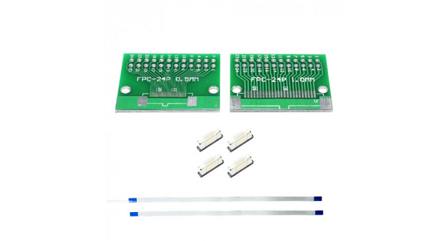 FPC 24 Pin Kit - 0.5mm Pitch