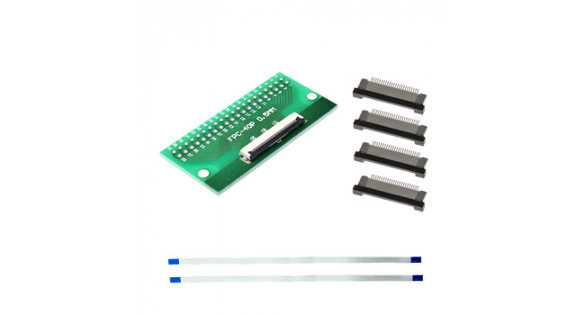 FPC 40 Pin Kit - 0.5mm Pitch