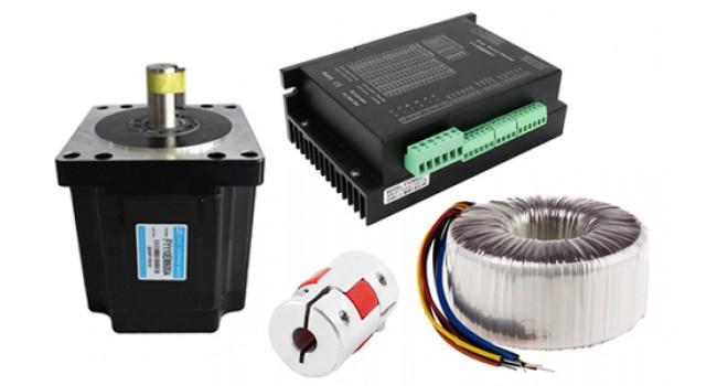 Stepper Motor 14Nm + FYDB808T + 500W PSU Kit