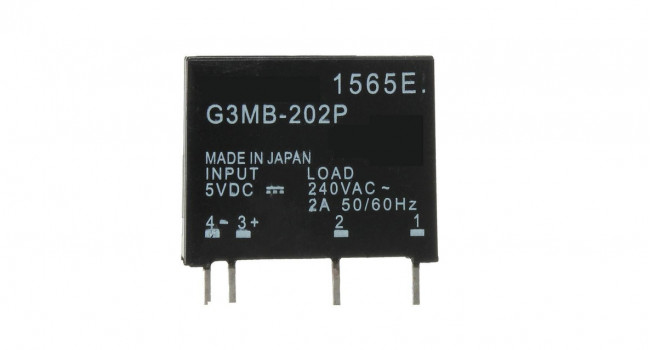 Solid State Relay 240AC 2A