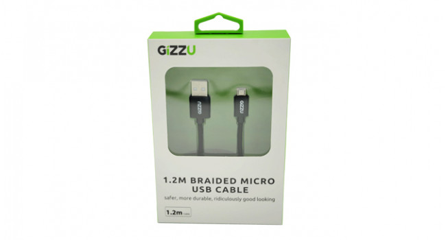 Gizzu Micro USB to USB - 1.2m