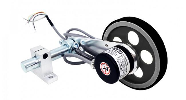 Optical Encoder 600PPR + 300mm Wheel 5-26V