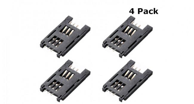 GSM SIM Holder - 6 Pin (4 Pack)