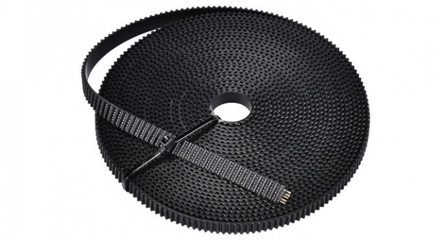 Steel Wire Reinforced PU GT2 Timing Belt 2mm pitch 10mm width for 3D Printer CNC