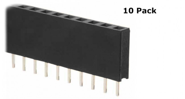 SIL 40 Way Header Female Connector (10 Pack)