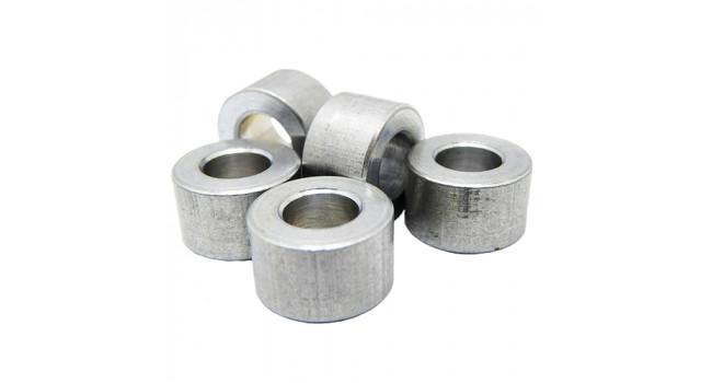 Aluminium Spacers 6.2X10mm (8 Pack)