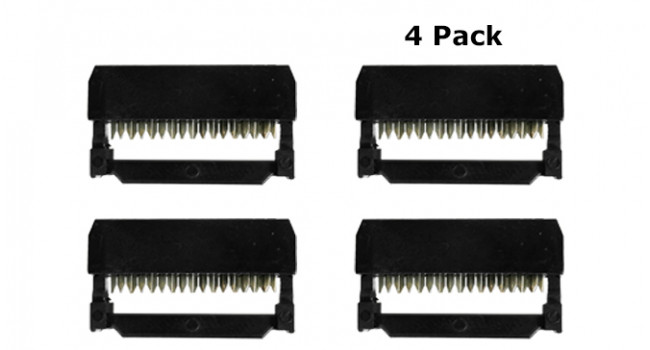 IDC 16 Pin (2x8) Female Connector (4 Pack)