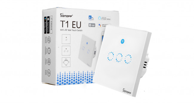 Sonoff T1 EU Wall Touch - 3 Way