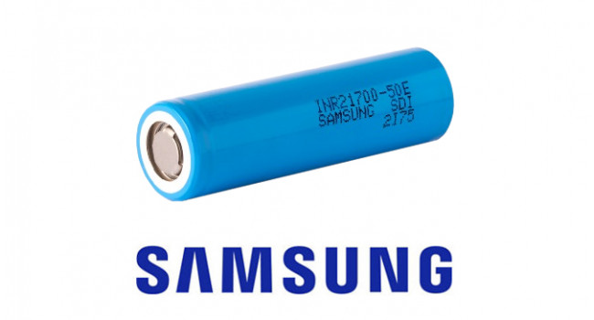 Samsung 21700 5000mA 3.7V Lion Battery