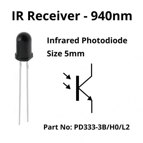 infrared tx and rx led pair  10 pack