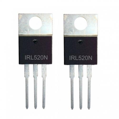 MOSFET IRL520N (2 Pack)