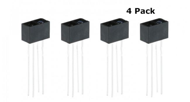 ITR9909 Reflective Sensor (4 Pack)