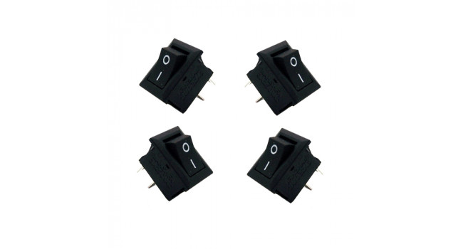 KCD11 Rocker Switch 3A (4 Pack)