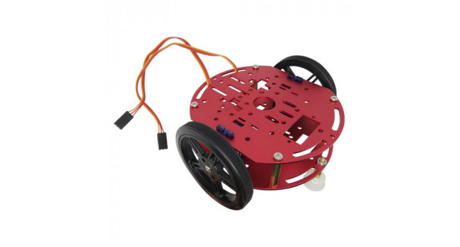 Robot Chassis With 2 x Servos