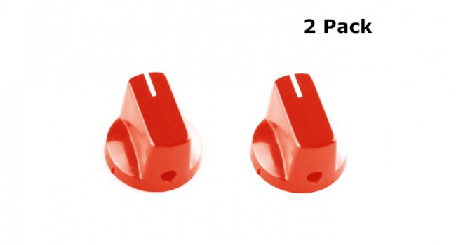 Knob Pedal Red (2 Pack)